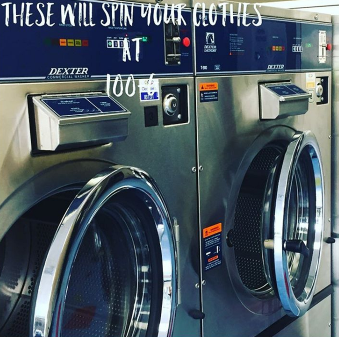 Laundromat Large Washers and Dryers Lynchburg Virginia